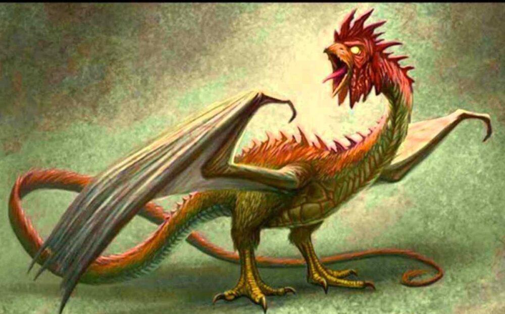 el basilisco la serpiente dragón